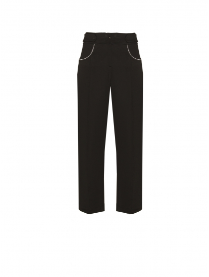 COWGIRL CAPRI JERSEY CRYSTAL TROUSERS