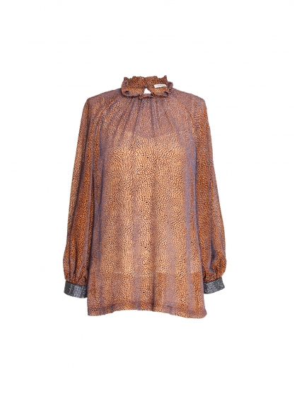 VELVET AND CRYSTAL TUNIC