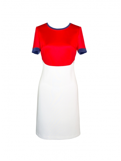 TECHNICAL JERSEY 60' DRESS