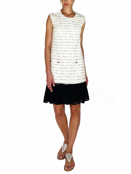 DRESS 60 TWEED AND LACE
