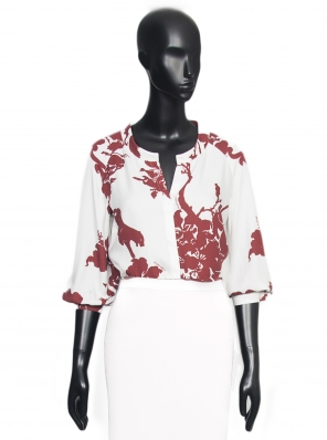 AMAZONA BLOUSE PRINTED