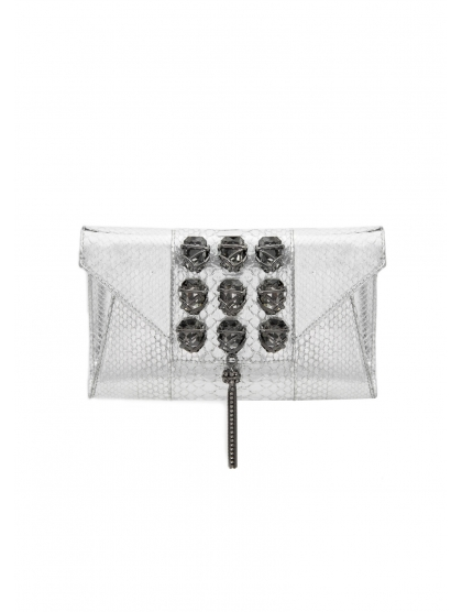 GEOMETRIC ARMY CLUTCH