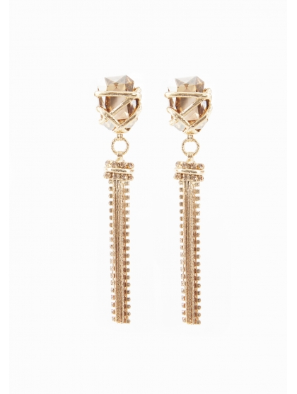 CRYSTAL ARMY EARRINGS