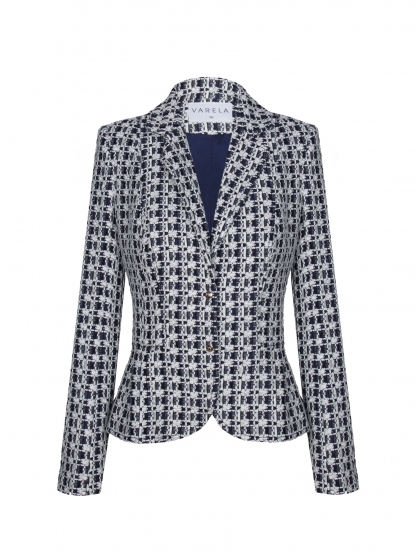 TWEED AND LACE JACKET
