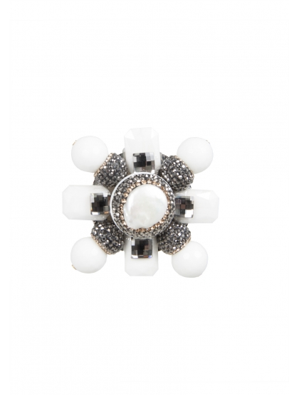 BROCHE CRUZ BELLOTA CRYSTAL