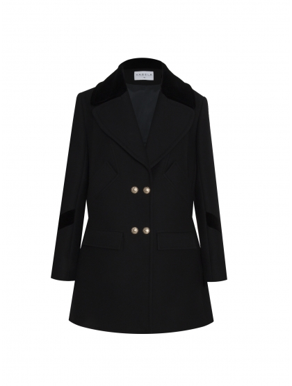 OVERSEIZE WOOL TRENCH