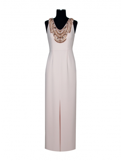 MUMBAI HALTER LONG DRESS