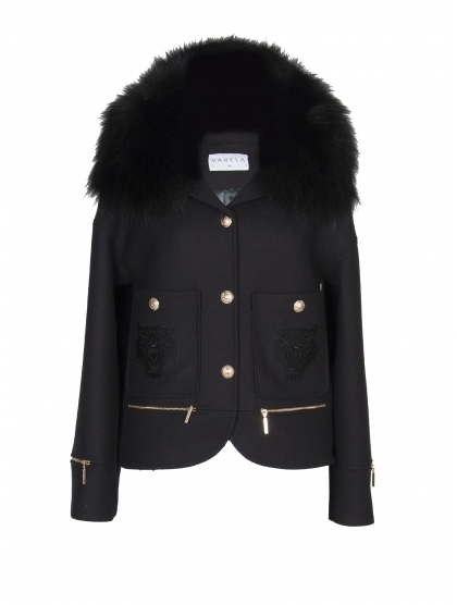 MINI TRENCH BLACK SAFARI