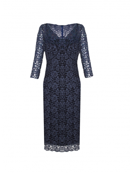 CHINESE LACE DRESS AND GEORGETTE