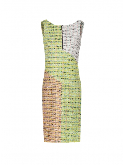 60's TWEED PACH DRESS