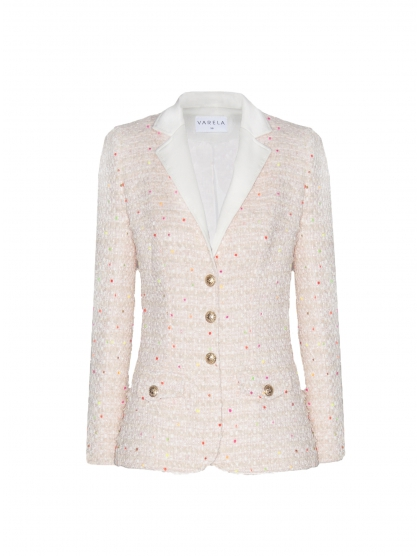 CHAQUETA SASTRE TWEED FLUX
