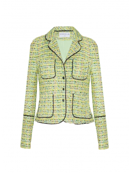 CHAQUETA 60 TWEED GALON
