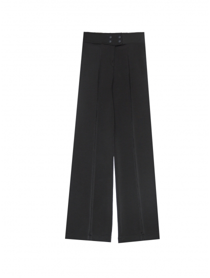 NEW PALAZZO BELL SHAPE JERSEY TROUSERS