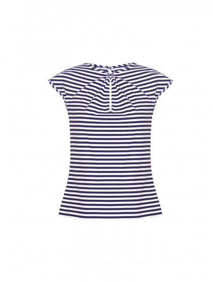 KNOTTED STRIPED HAWAI TOP